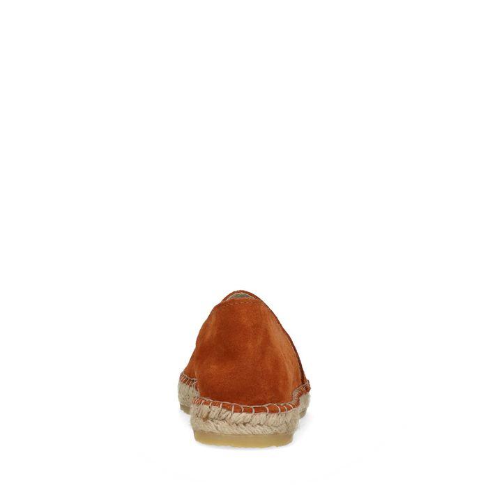Espadrilles en daim - marron
