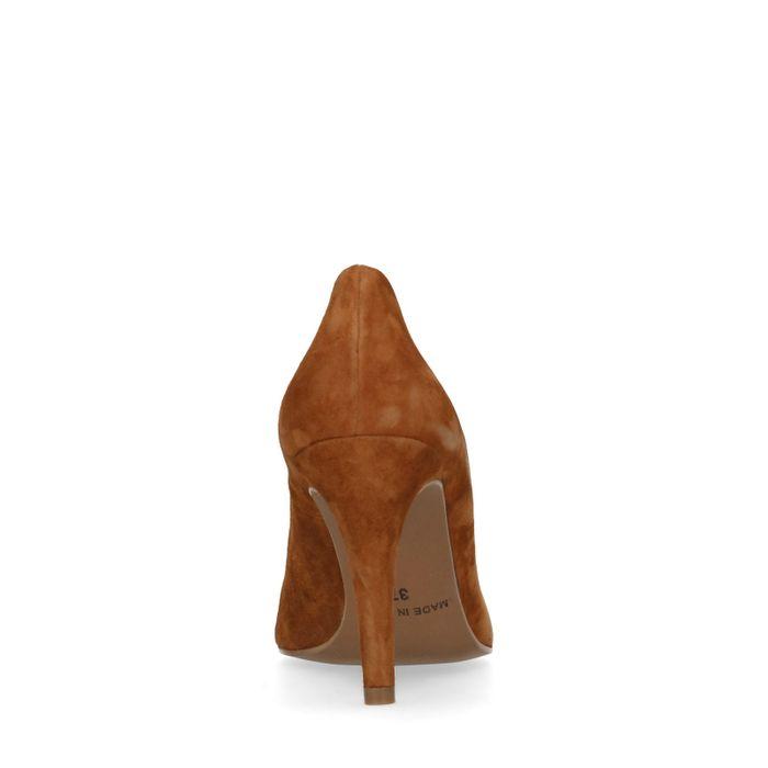 Escarpins en daim - marron