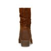 Bottines en daim - marron