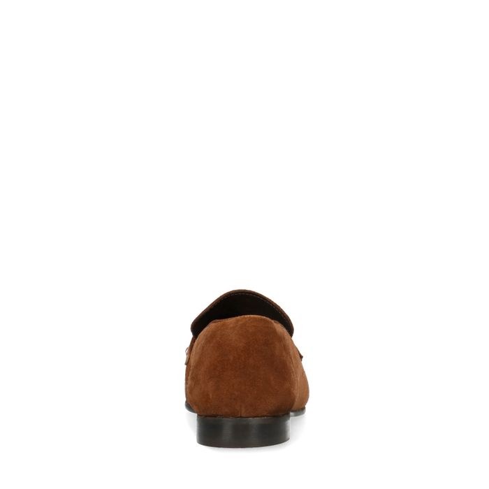 Loafers en daim - marron