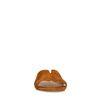 Claquettes en daim - marron