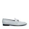 Loafers en cuir - blanc