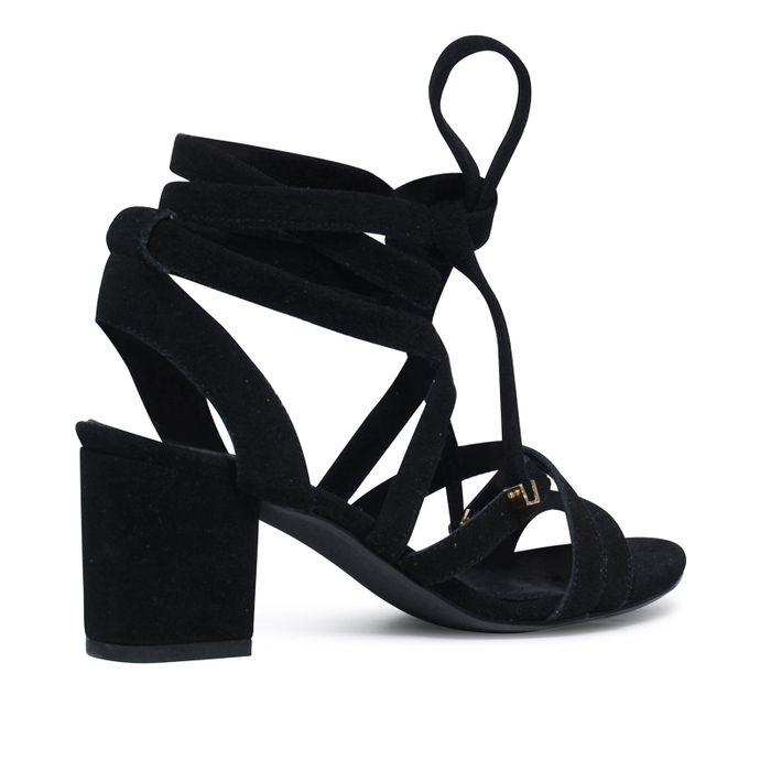 Sandales à talon - noir