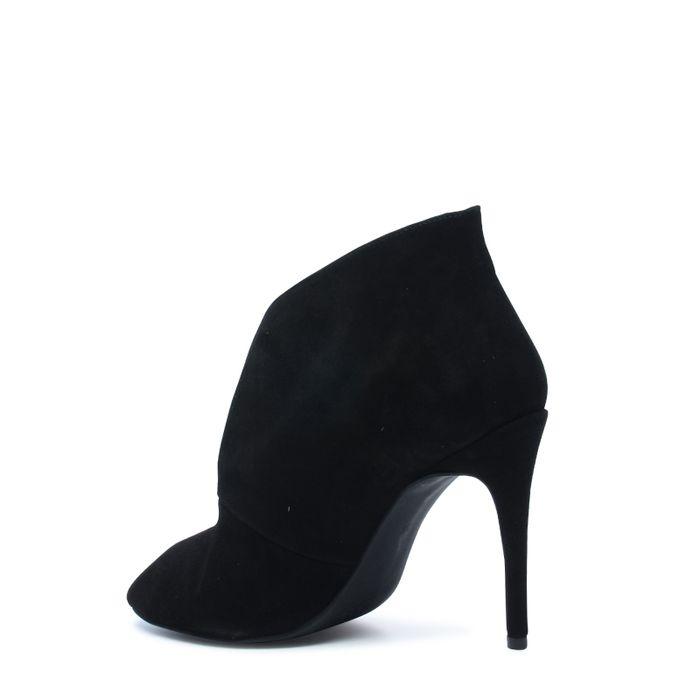 Escarpins ouverts avec peep-toes - noir