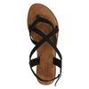 Sandales tressées - noir