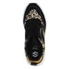 Dad shoes en daim avec imprimé léopard - noir