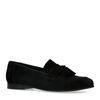 Loafers en daim - noir