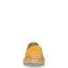 Espadrilles en daim - jaune