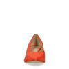 Escarpins en daim avec talon bas - orange