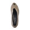 Escarpins ouverts avec peep-toes - taupe