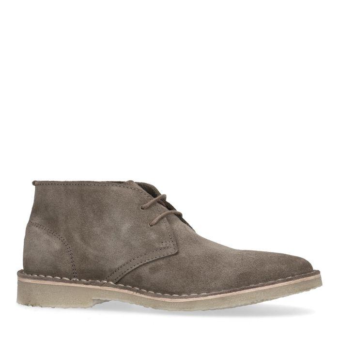 Desert boots en daim - taupe