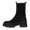 Chelsea boots en cuir - noir
