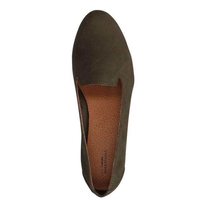 Loafers - vert foncé