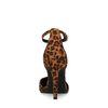 Escarpins en suédine avec imprimé - léopard