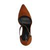 Escarpins en suédine - marron
