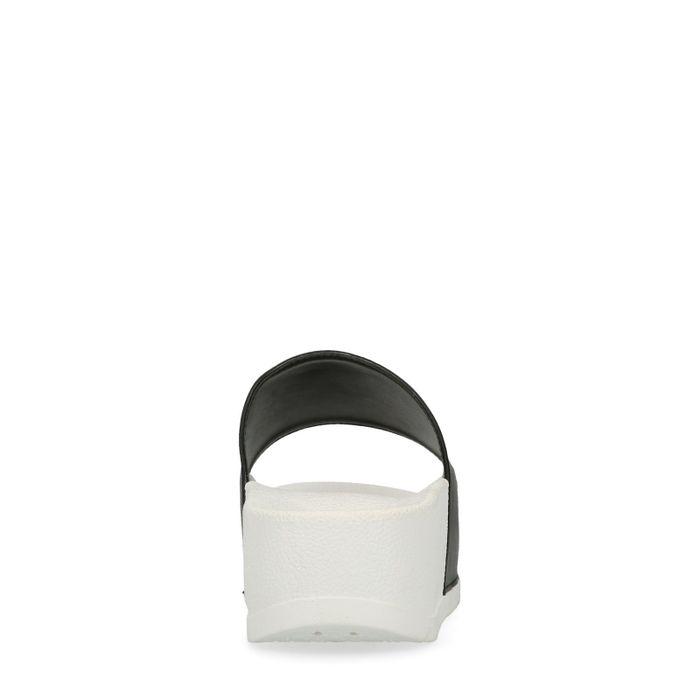Claquettes synthétique à plateforme SEA YOU - noir