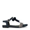 Sandales à franges - jean