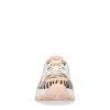 Dad shoes synthétique avec imprimé zèbre et détail - rose