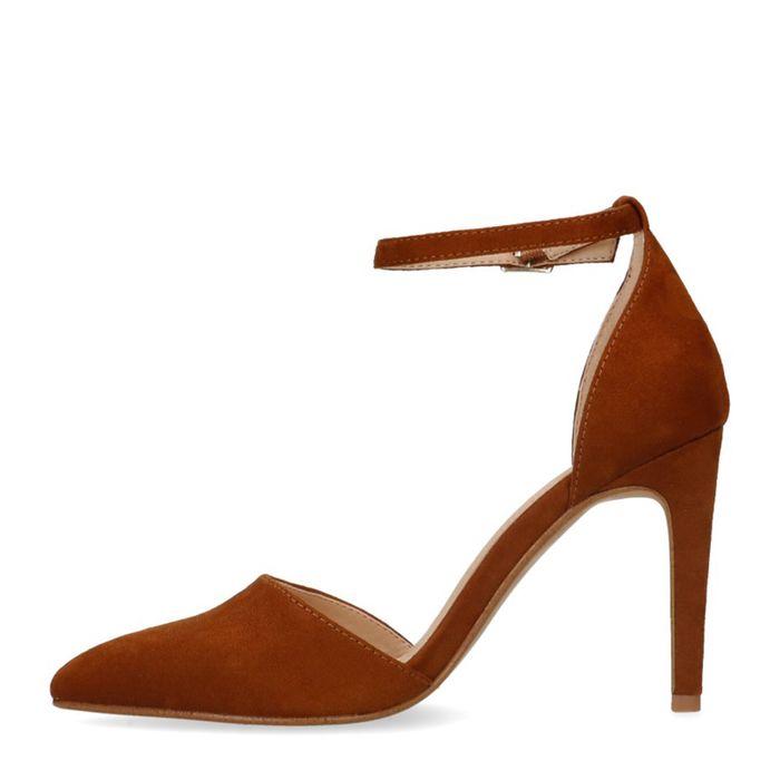 Escarpins fermés synthétique - marron