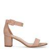 Sandales avec talon moyen - nude