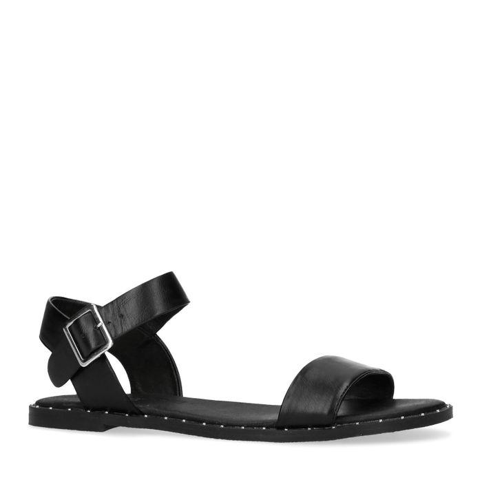 Sandales avec clous - noir