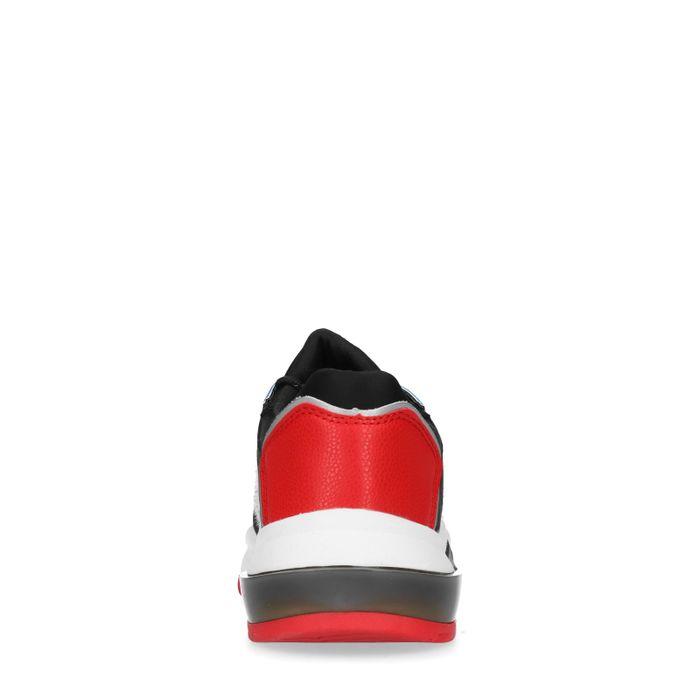 Dad shoes synthétique avec imprimé zèbre - noir