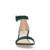 Sandales avec talon moyen - vert