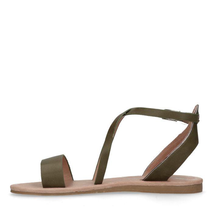 Sandales synthétique - vert