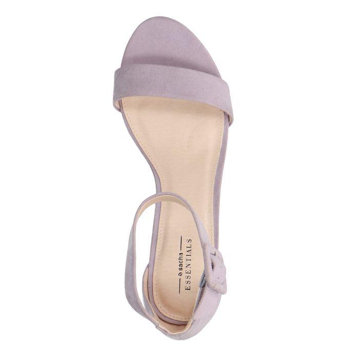 Sandales à talon - lilas