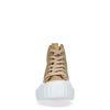 Baskets mi-hautes en textile - beige