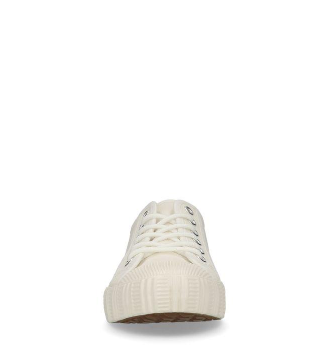 Baskets textile basses - blanc