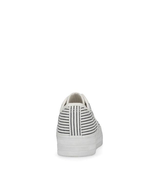 Baskets à plateforme - bleu/blanc