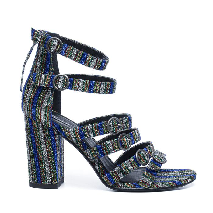 Sandales à talon - pailleté
