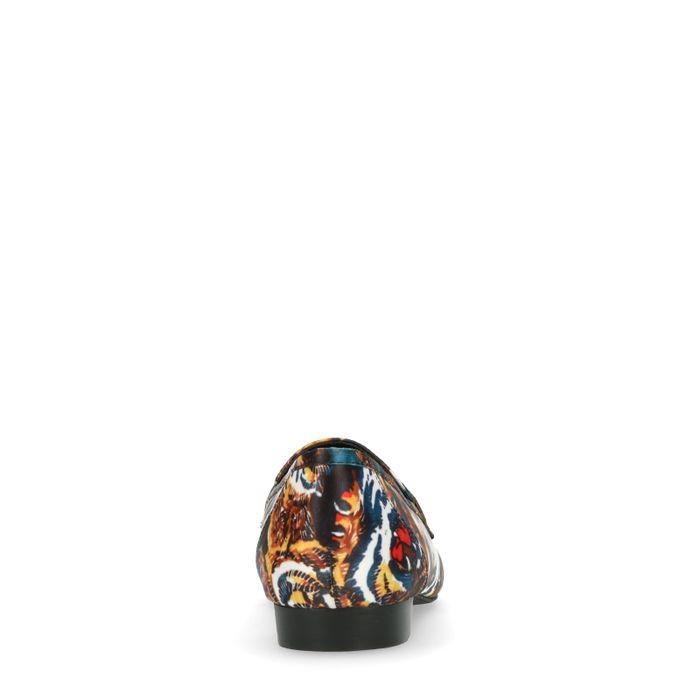 Loafers avec imprimé tigre