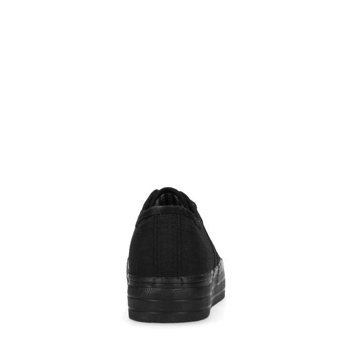Baskets avec semelle plateau - noir