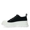 Dad shoes en textile - noir