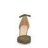 Escarpins avec bride cheville - vert olive