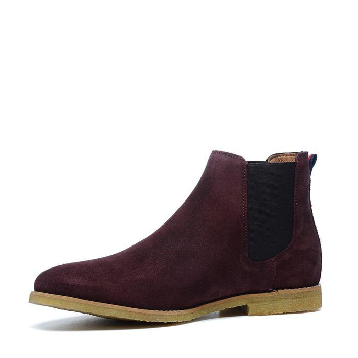 0d054153d47 Chelsea boots en daim - bordeaux - hommes – SACHA