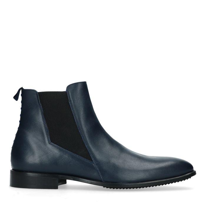 Sacha x MattGStyle donkerblauwe chelsea boots
