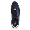 Donkerblauwe sneakers met camouflage