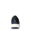 Zwarte sneakers met donkerblauwe details