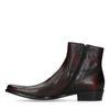Bordeaux lage boots