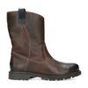 Bruine leren boots