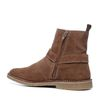 Lage boots camel