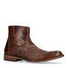 Cognac lage boots