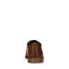 Cognac geruite veterschoenen