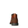 Cognac halfhoge veterschoenen