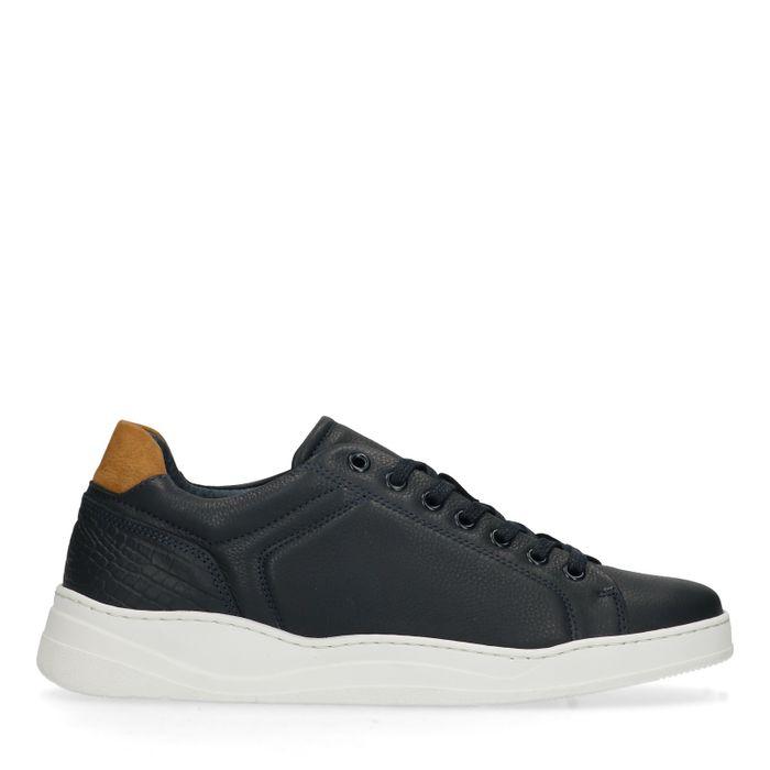 2ed40fa318b Donkerblauwe sneakers - Herenschoenen – SACHA