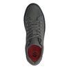 Grijze sneakers met zwarte zool