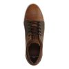 Cognac lage sneakers